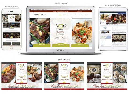 Aspen Grille Re-Branding